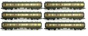 Dapol 2P-00-xx6 set GWR Colletts (set of 6 Coaches)
